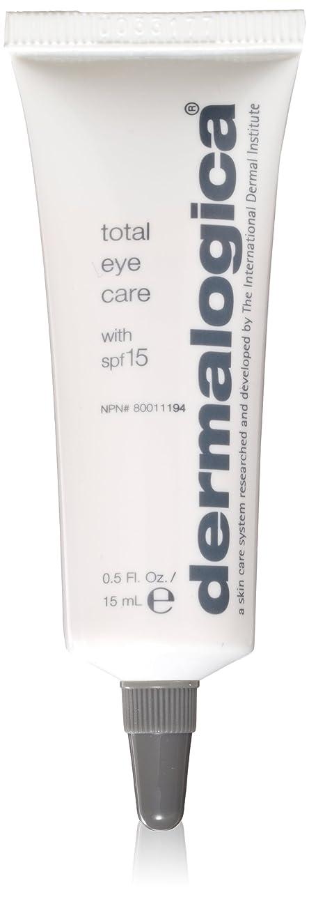 クック舞い上がる鋸歯状Dermalogica Total Eye Care Cream 15 ml