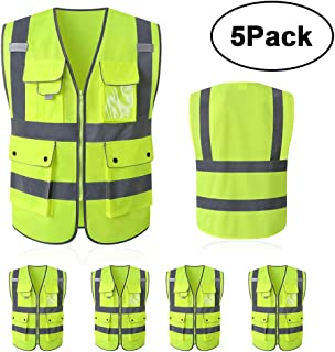 Best safety vest with pockets and zipper Reviews
