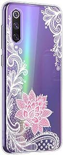 Oihxse Mandala Flores Encaje Patrón Serie Case Compatible con Xiaomi Redmi 5 Plus Funda TPU Silicona Suave Protector Ultra Slim Anti-Rasguño Transparente Carcasa (A6)