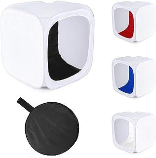 Fotografía Studio Pop-up tienda de luz con 4fondos | PhotoGeeks Shooting Cubo Caja difusor | fotografía de producto | disponible en tamaños 40cm, 60cm, 90cm, 100cm, 120cm y 150cm