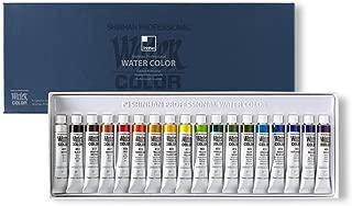 SHINHAN Professional Paint Watercolor 7.5ml Tubes 18 Color Set