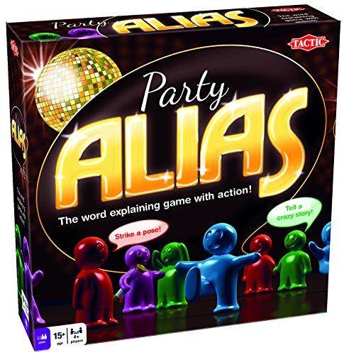 Tactic 41102 Party Alias Game, Nylon/a