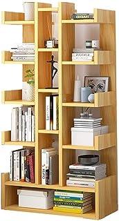 Bibliothèque contemporain Moderne Bibliothèque Meubles de salon Creative terre de rangement en bois Vitrine Chambre Enfant...