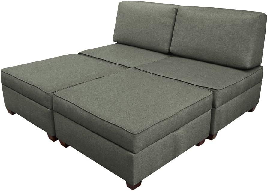 Amazon Com Duobed Multifuntional King Sofa Sleeper Brown Furniture Decor