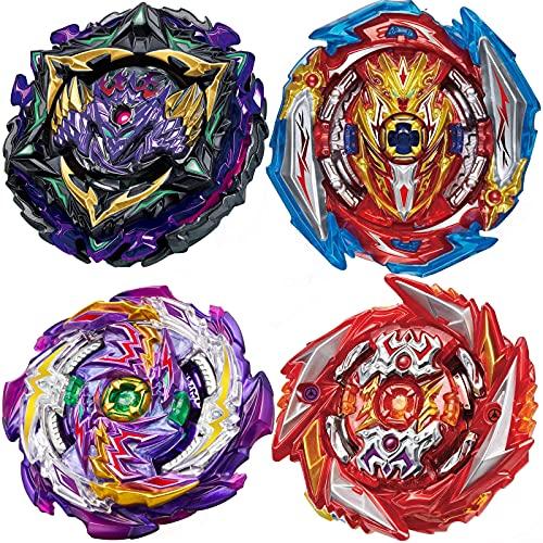 BEUTEESER Burst Gyros Battling Top Battle Burst High Performance Set, Birthday Party School Gift Idea Toys for Boys Kids Children Age 8+, 8 Pieces Pack
