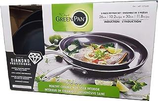 GreenPan Black Diamond sartenes de cerámica antiadherentes, 2 unidades