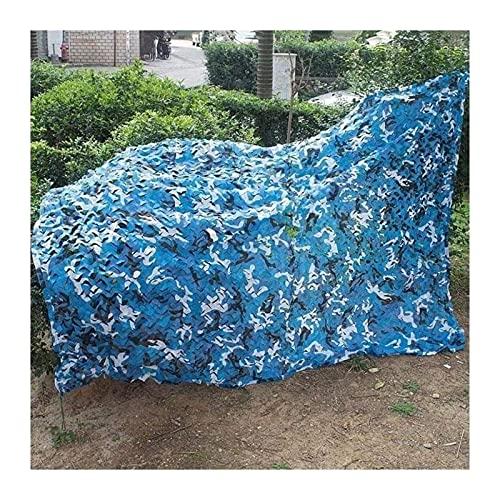 Malla Sombra Azul Marino Oxford Tela de Camuflaje Malla Sombra for el tamaño Piscina al Aire Libre Terraza Marina: 4x10m / 13.1X32.8FT (Size : 2x8m/6.5x26.2ft)