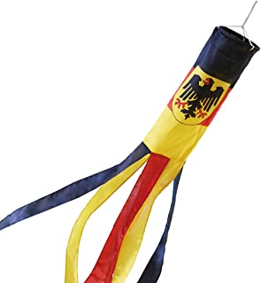 Germany Windsock German Eagle Polyester 60 Inch Outdoor Wind Sock Decoration
