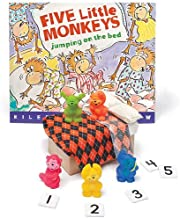 Primary Concepts, Inc Five Little Monkeys Jumping On The Bed 3-D Storybook Children's Book