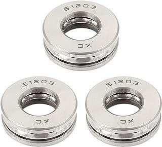 uxcell® 51203 Carbon Steel Thrust Ball Bearing 35x16x12mm 3pcs