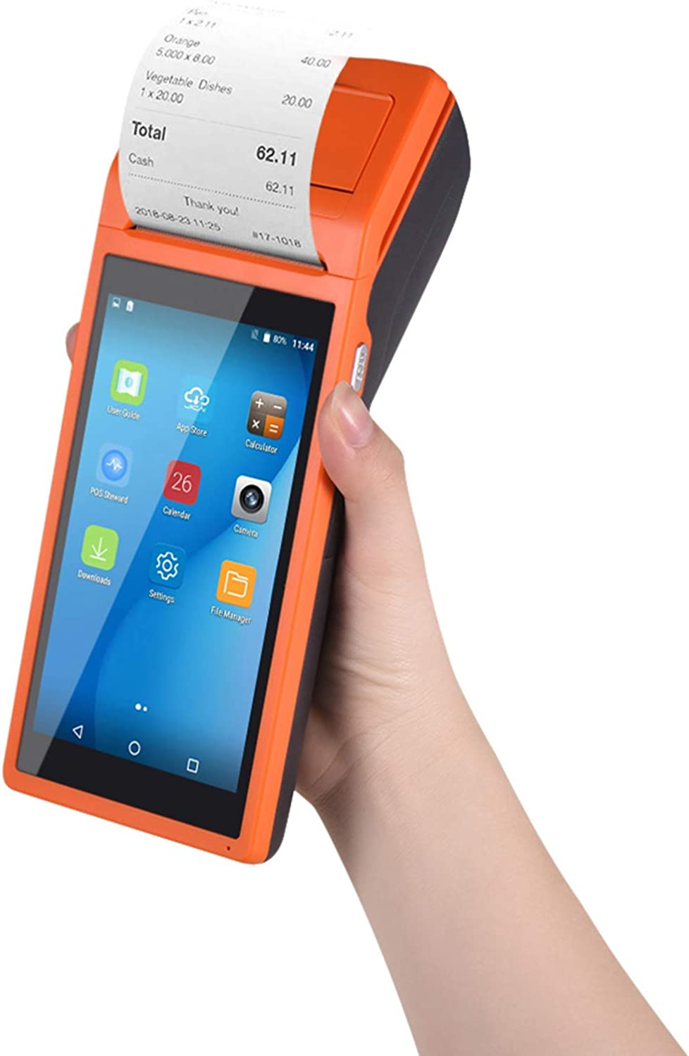 Aibecy1 All Ranking integrated 1st place in One specialty shop Handheld PDA Wirel Terminal Printer POS Smart