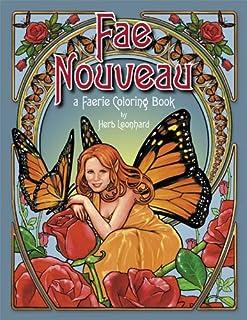 Fae Nouveau, A Faerie Coloring Book