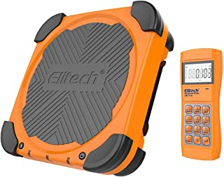 Elitech LMC-310 Wireless Refrigerant Electronic Charging Weight Recovery Scale Freon Scale Digital HVAC Weight Scale Charging Valve 220 lbs/100kgs