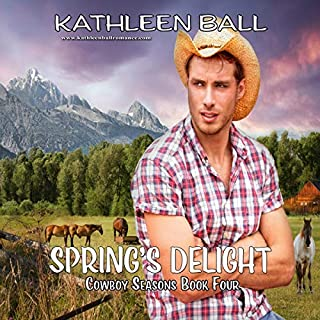 Spring's Delight     Cowboy Seasons, Book 4              Written by:                                                                                                                                 Kathleen Ball                               Narrated by:                                                                                                                                 Vicki Pierce                      Length: 5 hrs and 59 mins     Not rated yet     Overall 0.0