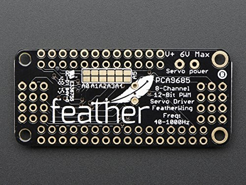 Adafruit 8-Channel PWM or Servo FeatherWing Add-on For All Feather Boards [ADA2928]