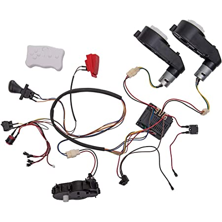 Amazon Com Shengle Kids Ride On Car 12v Diy Modified Harness Complete Set Of Remote Control Circuit Borad Wires Switch Children Electric Ride On Toys Accessories Toys Games
