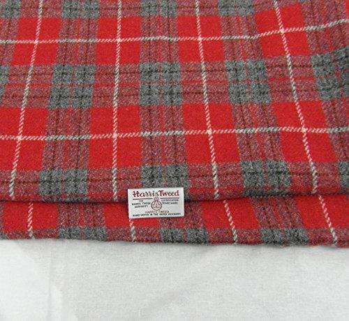 Harris Tweed Stoff, 100 % reine Wolle, mit Etiketten, 75 x 50 cm, Ref. f12