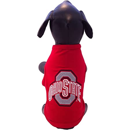 XX-Large NCAA Ohio State Buckeyes All Weather-Resistant Protective Dog Outerwear