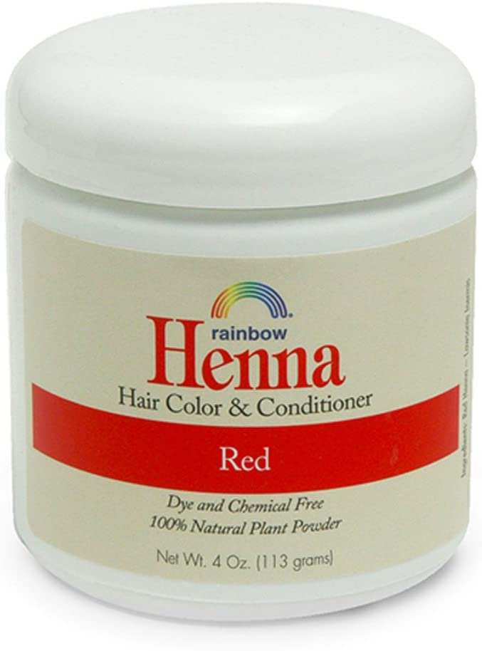 日本製 安売り Rainbow Research Henna Hair Color And 4 - Red Conditioner Oz