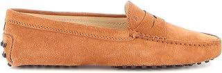 Luxury Fashion | Tod's Women XXW00G00010RE09993 Orange Suede Loafers | Spring-summer 20