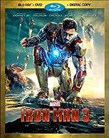 IRON MAN 3 (TWO-DISC BLU-RAY/DVD + DIGITAL COPY)