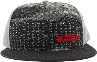 Lebron Rubber City True Hat Snapback Adjustable Grey