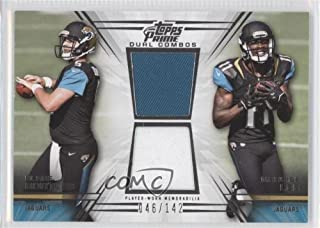 2014 Panini Absolute Quads Rookies #2 Blake Bortles Marqise Lee Allen Hurns Card