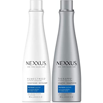 Nexxus Shampoo & Conditioner Combo Pack, Therappe Humectress, Caviar Complex, 13.5 Oz Each