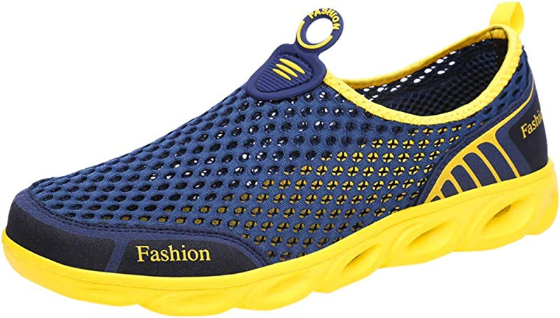 HAPPIShare Mens Womens Water Shoes Sports Quick Dry Barefoot Diving Swim Surf Aqua Walking Beach Yoga