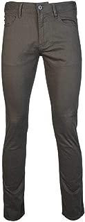 Emporio Armani J06 Slim Fit Green Grey Gaberdine Jeans 3G1J06 1NEDZ