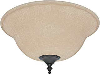Hunter 99160 Amber Linen Bowl Glass