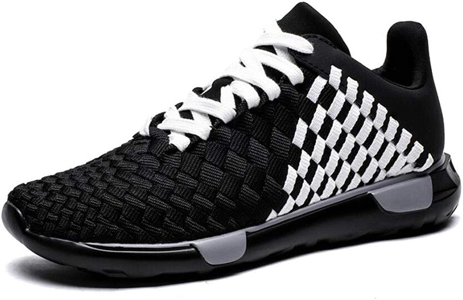ZIXUAP Men's Athletic Walking shoes - Casual Mesh Lightweight Running Slip On Sneakers