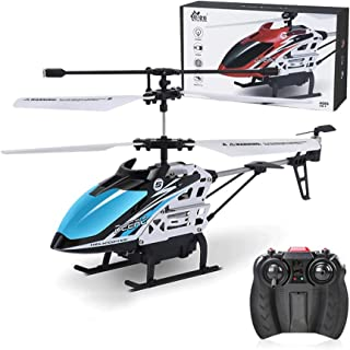 JYXMY Remote Control Airplane Mini RC Helicopter Fall-resistant Electric Toy Rechargeable 3.5-Channel Aeroplanes Mini Chil...