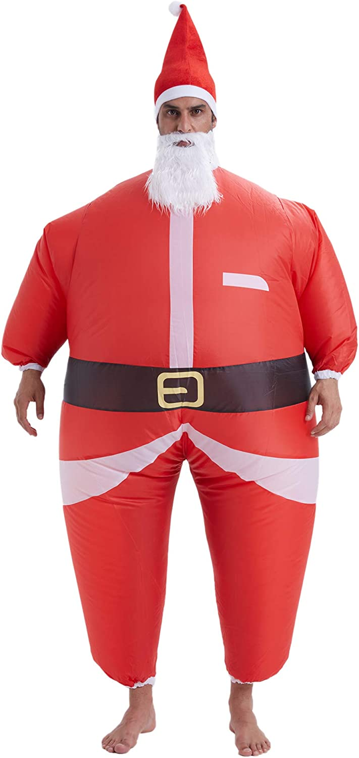THEE Jacksonville Mall Adult Inflatable Christmas Ultra-Cheap Deals Costume Claus Santa
