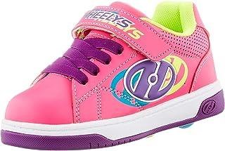 حذاء تزلج بعجلات X2 من Heelys Swerve وردي غامق/متعدد الألوان مقاس 32