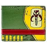 Cartera de Star Wars Mandalorian cazarrecompensas símbolo Verde