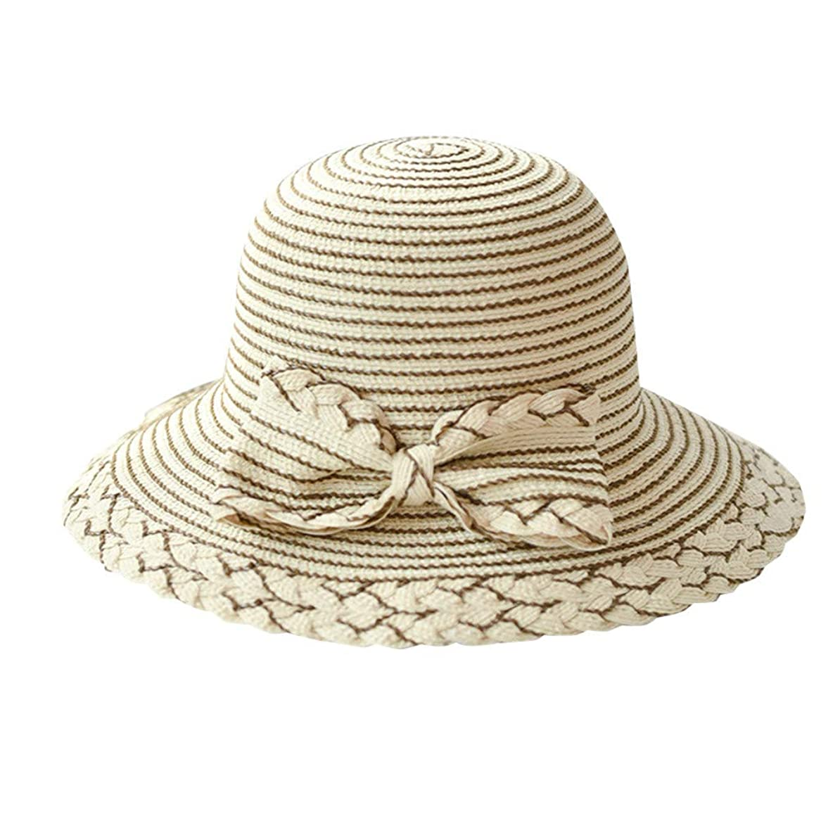 長老争い単位夏 帽子 レディース UVカット 帽子 ハット レディース 日よけ 夏季 女優帽 日よけ 日焼け 折りたたみ 持ち運び つば広 吸汗通気 ハット レディース 紫外線対策 小顔効果 ワイヤー入る ハット ROSE ROMAN