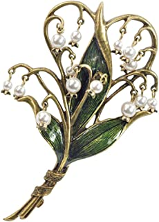 Best lily of the valley pin brooch Reviews