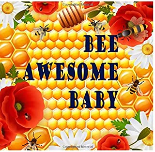Bee Baby Shower Guest Book: Cute Honeybee Theme Babyshower Guestbook Keepsake for Boys Girls to Sign In Write Wishes Advices for Parents and Predictions with Names Address and Gifts Log