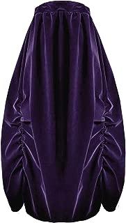 Victorian Valentine Steampunk Gothic Civil War Velvet Bustle Skirt