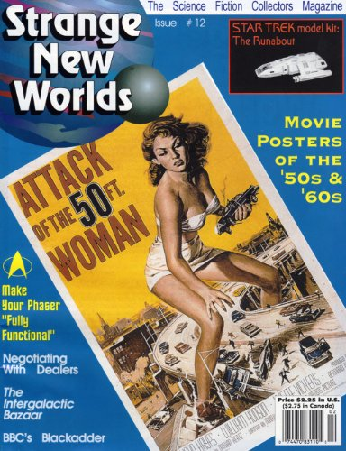 Strange New Worlds #12 Movie Posters of the '50s & '60s (Strange New Worlds Science Fiction Collectors Magazine) (English Edition)