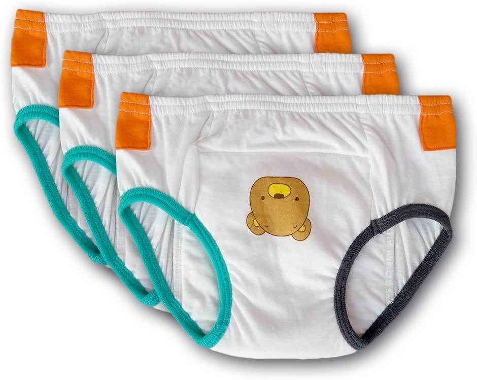 Tiny Trainers - Small Cotton Training Pants, 3-Pack