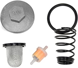 Oil Fuel Filter Oil Screen Cleaner Cap Drain Plug for GY6 50cc QMB139 150cc 157QMJ Chinese Moped Scooter Baja Jonway Lance Baotian Benzhou Taotao Motorcycle