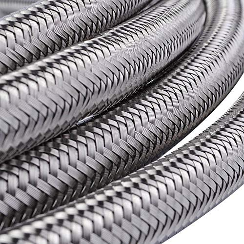 JIEIIFAFH AN3 AN4 AN6 AN8 Max 70% OFF AN10 OFFicial mail order Hose Braided Steel Stainless PTFE