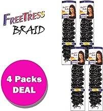 Shake N Go Freetress Bulk Braiding Hair - GOGO CURL (1)