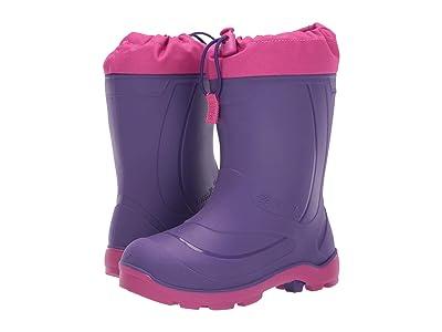 Kamik Kids Snobuster 1 (Toddler/Little Kid/Big Kid) (Royal Purple/Magenta) Girls Shoes