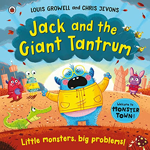 Jack and the Giant Tantrum: Little monsters, big problems (Monster Town) (English Edition)