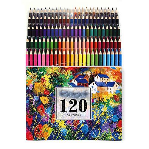 Duurzame professionele 48/72/120/160 kleuren potlood soft aquarel pen houten kleur potlood set schilderij schets krijt kinderen gift,c