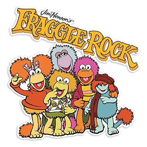 Popfunk Fraggle Rock Gang and Logo Collectible Stickers