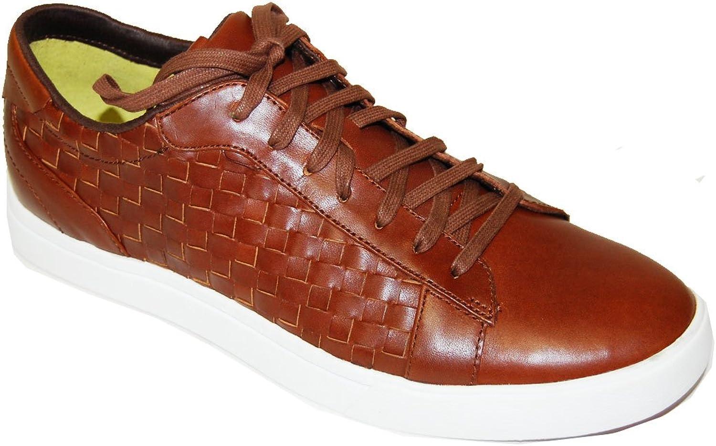 Cole Haan Lunar Coos Woven Oxford shoes C09720 Bourbon